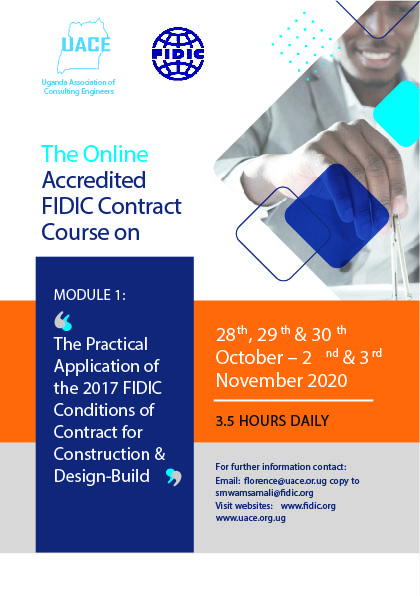 The OnlineAccreditedFIDIC ContractCourse on