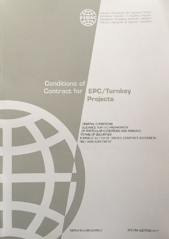 Conditions of Contract for EPC/Turnkey Products 2017